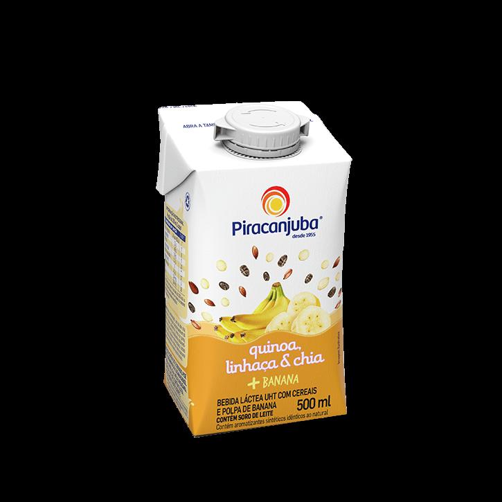Bebida Láctea com Cereais Sabor Banana 500 ml