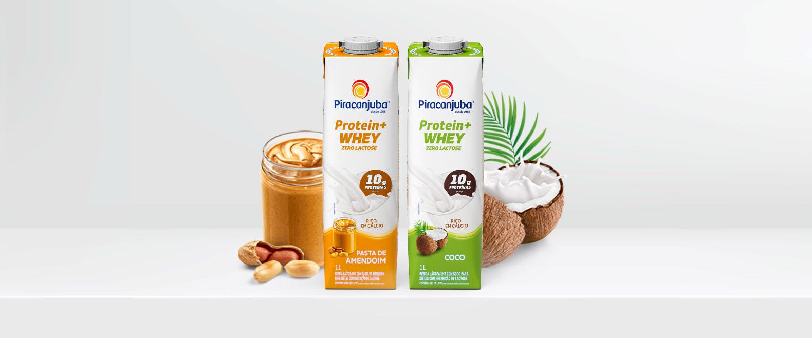 Conheça o Piracanjuba Protein + Whey