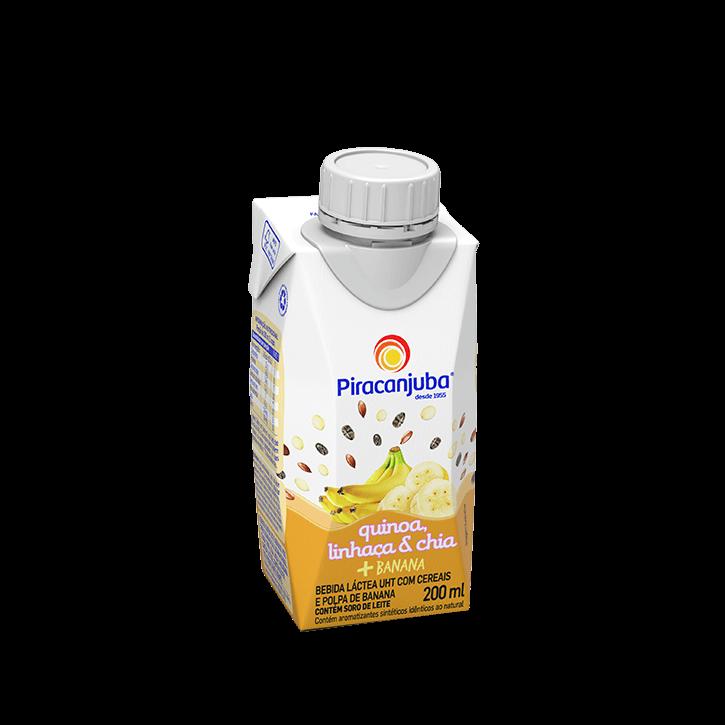 Bebida Láctea com Cereais Sabor Banana 200 ml