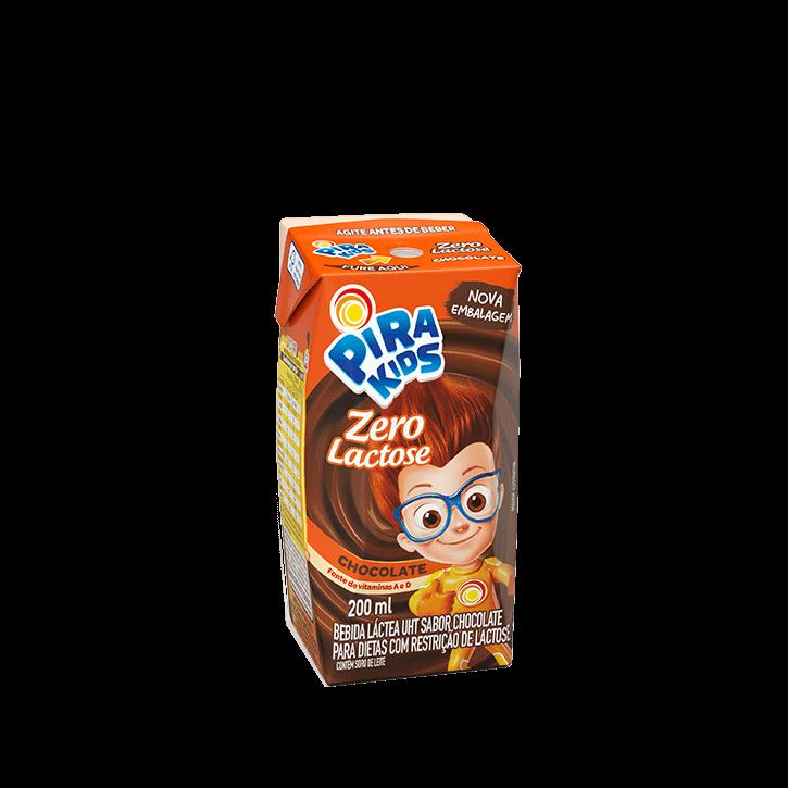 Achocolatado Pirakids Zero Lactose 200 ml