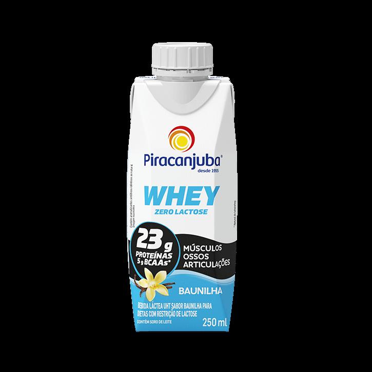 Whey Zero Lactose Baunilha 250 ml