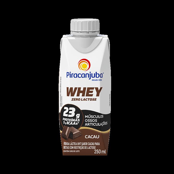 Whey Zero Lactose Cacau 250 ml