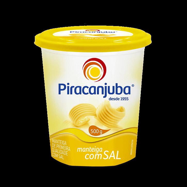 Manteiga com sal 500 g