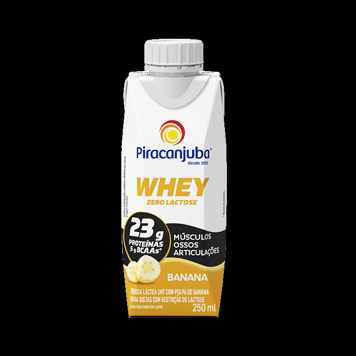 Whey Zero Lactose Banana 250 ml