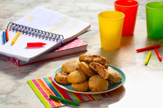 Delicioso Cookie de Banana! Confira o passo a passo.
